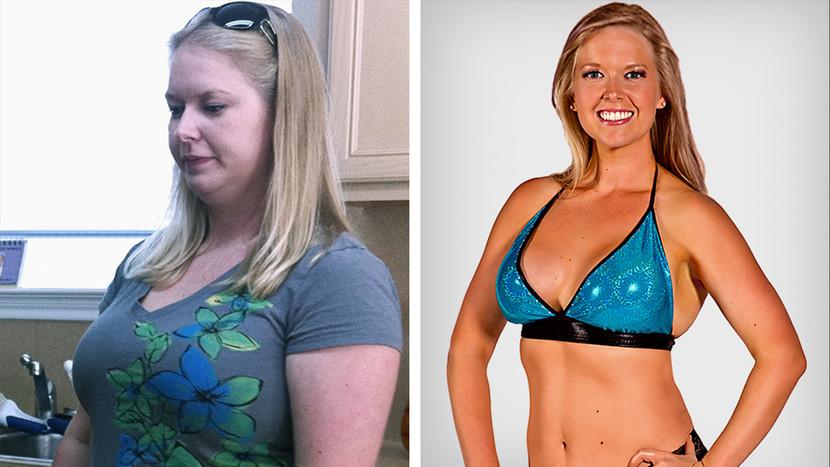 История похудения девушке