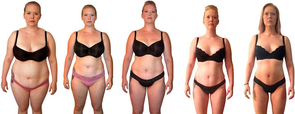 История похудения - фото до и после