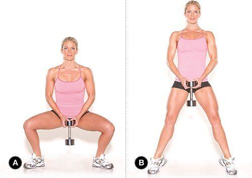 Как похудеть в бедрах и ягодицах в домашних условиях упражнения