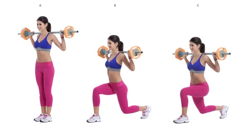 Выпады для ягодиц техника выполнения различные варианты упражнения
