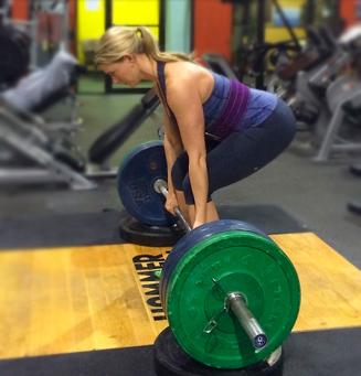Тренировка со штангой для похудения