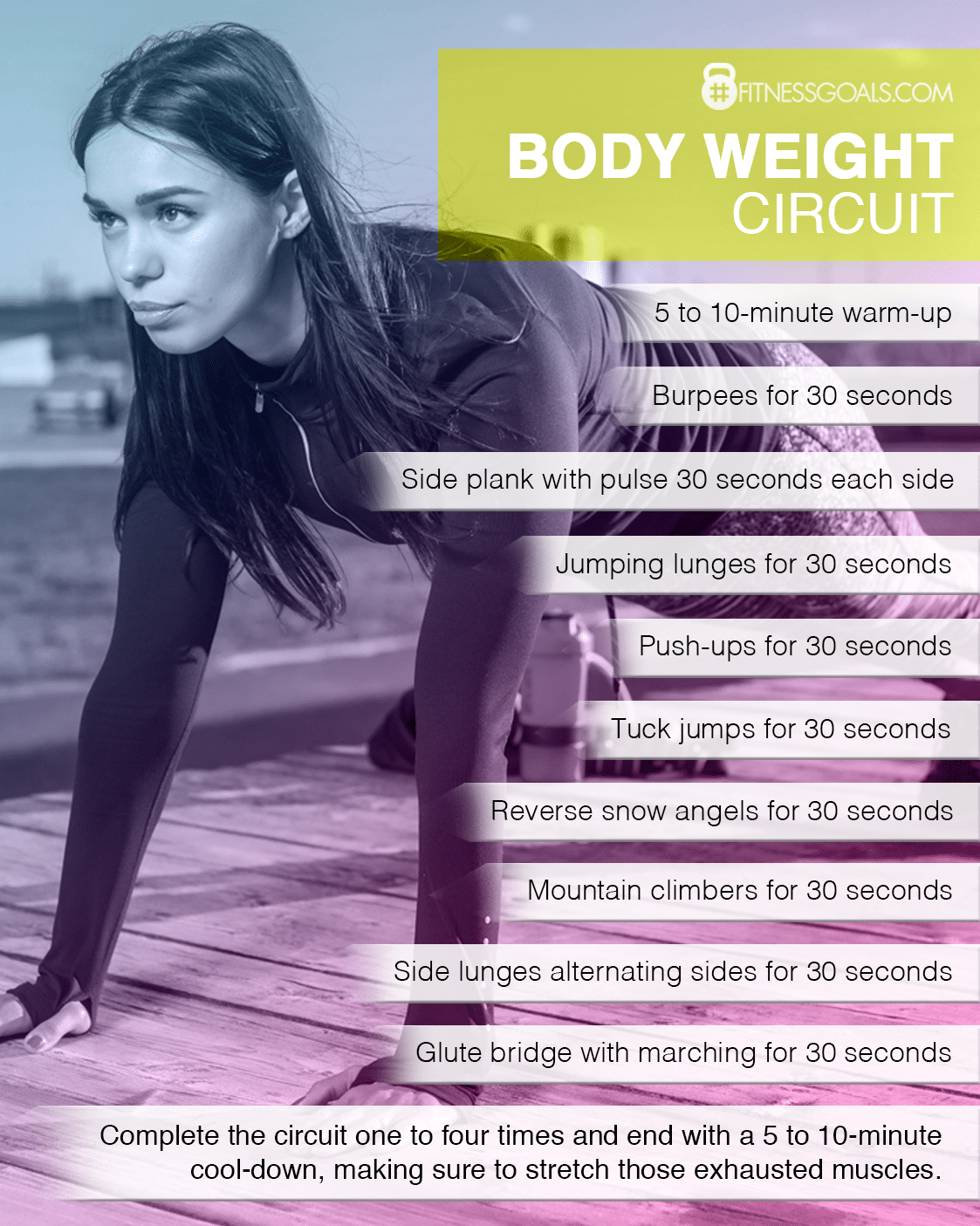 Тренировка с собственным весом