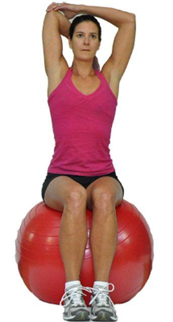Растягиваем мышцы трицепса
