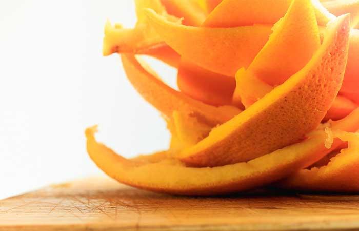 шкурка апельсинов