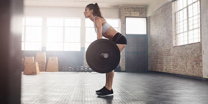 Становая укрепляет мышцы кора