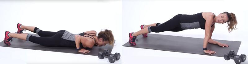 Отжимания в упоре лежа на одной руке