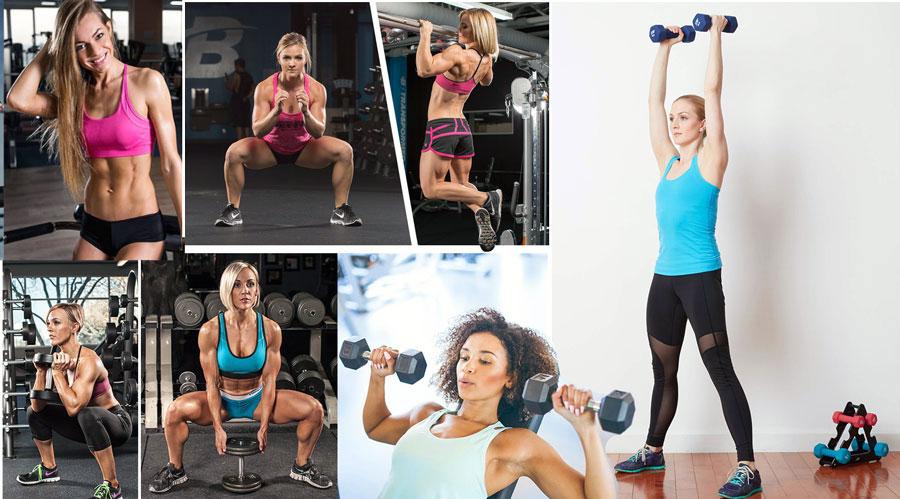 Силовые тренировки для похудения в домашних условиях