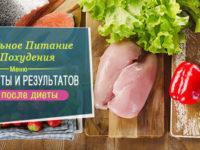 Руководство по правильному питанию с отзывами о похудении на ПП и примерами меню