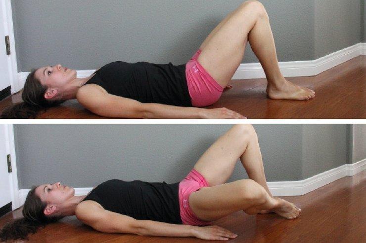 боковые движения коленями
