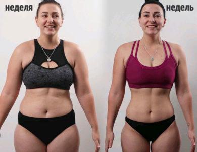 Недельный план тренировок для похудения для девушек в зале