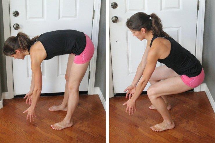 упражнение от диастаза