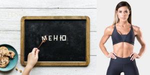 Как питаться женщине, которая хочет набрать мышцы: продукты и пример меню на неделю