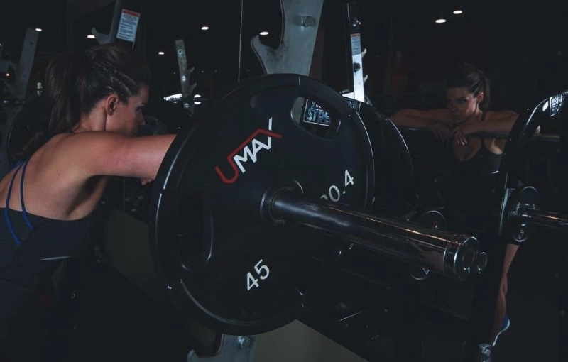 Тренировка с железом