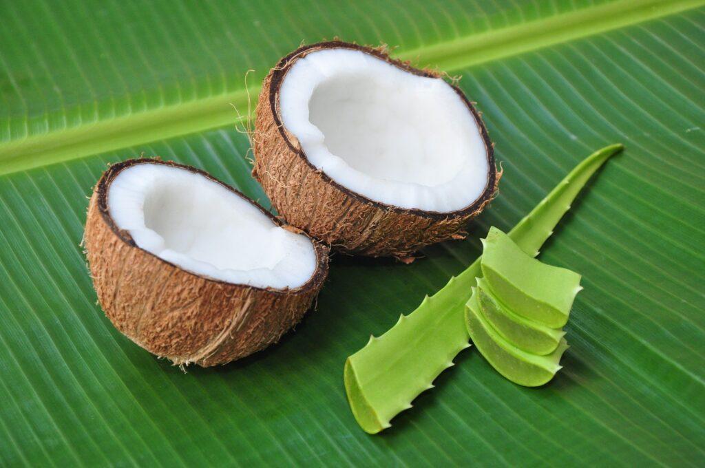 алоэ и кокос